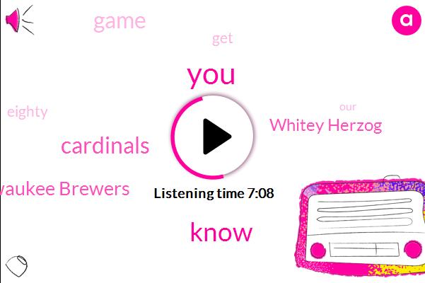 Cardinals,Milwaukee Brewers,Whitey Herzog