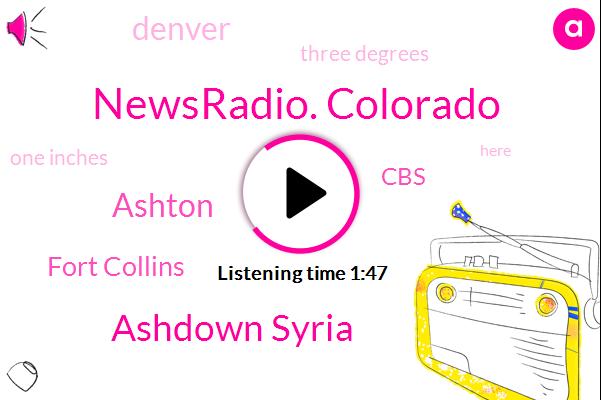 Newsradio. Colorado,Ashdown Syria,Ashton,Fort Collins,CBS,Denver,Three Degrees,One Inches