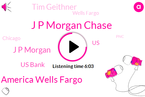 J P Morgan Chase,Chase Bank America Wells Fargo,J P Morgan,Us Bank,Tim Geithner,United States,Wells Fargo,Chicago,PNC,Daime Diamonds Bank,Sandy Weill,Citigroup,Smith Barney,Golf,Jamie Dimon,Jamie Namen