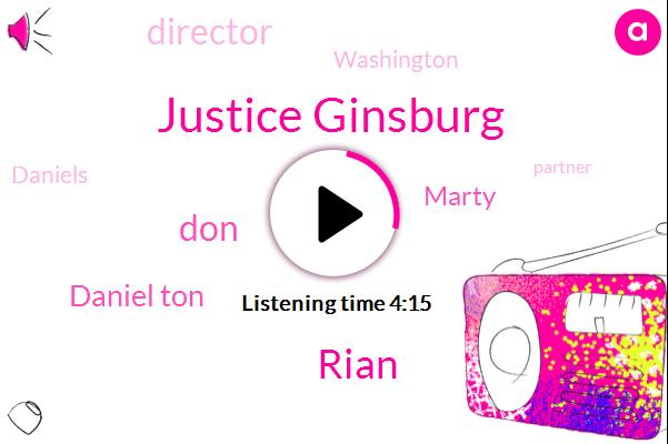 Justice Ginsburg,Rian,DON,Daniel Ton,Marty,Director,Washington,Daniels,Partner,Ramadi,Monchy,Six Foot