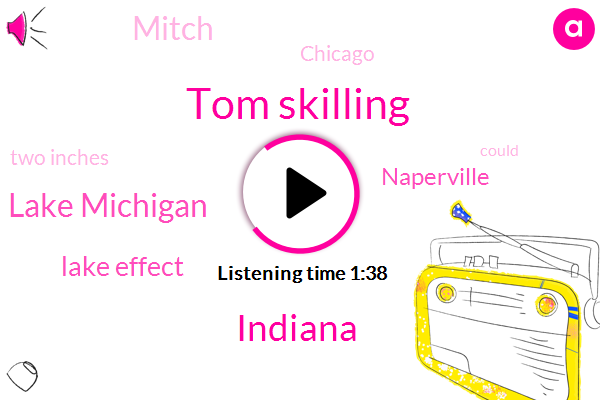 Tom Skilling,WGN,Indiana,Lake Michigan,Lake Effect,Naperville,Mitch,Chicago,Two Inches
