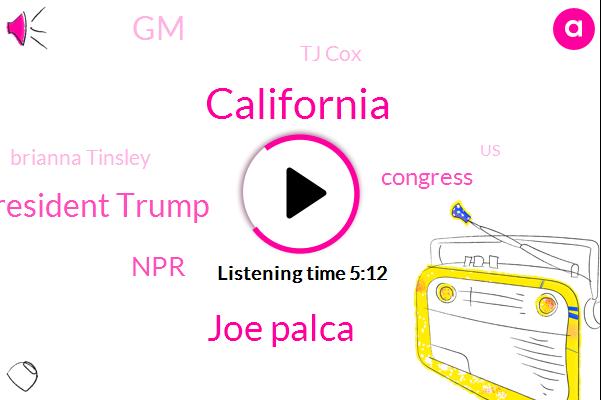 California,Joe Palca,President Trump,NPR,Congress,GM,Tj Cox,Brianna Tinsley,United States,Michelle Crabs,General Motors,Brianna Tensely,Barack Obama,UAW,Detroit,Gavin Newsom,Executive