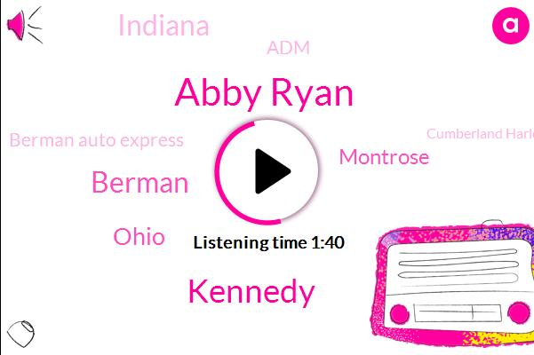 Newsradio,Abby Ryan,Kennedy,Ohio,Montrose,Indiana,Berman,ADM,Berman Auto Express,Cumberland Harlem,Bessie Coleman,Eisenhower,Jane Byrne,Stevenson,Berman Dot