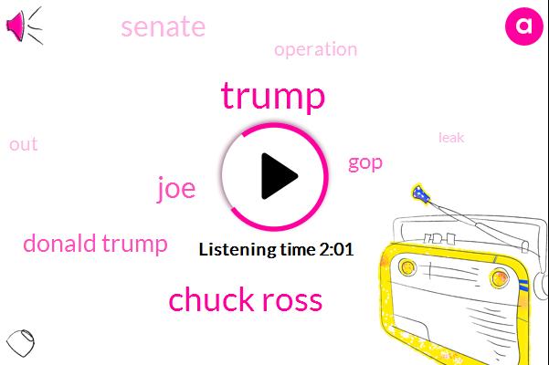 Donald Trump,Chuck Ross,JOE,GOP,Senate