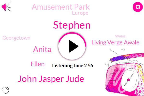 John Jasper Jude,Stephen,Anita,Ellen,Living Verge Awale,Amusement Park,Europe,Georgetown,Wales