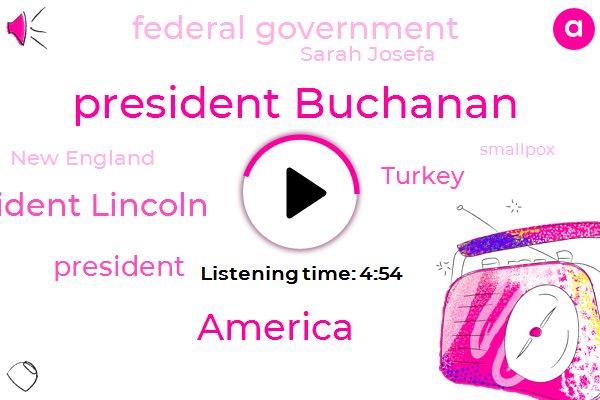 President Buchanan,America,President Lincoln,President Trump,Turkey,Federal Government,Sarah Josefa,New England,Smallpox,Edward Winslow,Congress,Boston,Editor,Ford,Hale