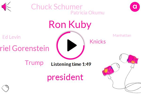 Ron Kuby,President Trump,Gabriel Gorenstein,Donald Trump,Knicks,Chuck Schumer,Patricia Okumu,Ed Levin,Manhattan,Senate,Dera,New Mexico,Guatemala,Mexico,Congress,Five Billion Dollars