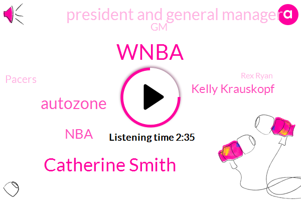 Wnba,Catherine Smith,Autozone,NBA,Kelly Krauskopf,President And General Manager,GM,Pacers,Rex Ryan,Derek Fisher,Basketball,Indiana,Fevers,USA,Adrian,Boulter,Director Of Operations,President Trump,Seventeen Years