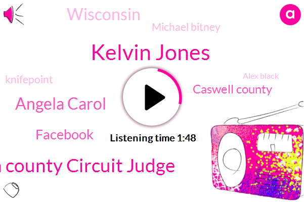 Kelvin Jones,Barron County Circuit Judge,Angela Carol,Facebook,Caswell County,Wisconsin,Michael Bitney,Knifepoint,Charlotte,Alex Black,Indiana,Kidnapping,Wrol Tv,Britney,Tom Graham,Assault,Fox News,Fifty Three Year,Fifty Six Years