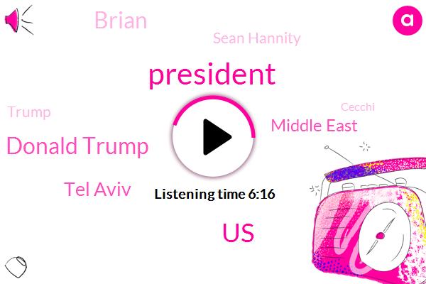 President Trump,United States,Donald Trump,Tel Aviv,Middle East,Brian,Sean Hannity,Cecchi,Golan Heights,Jerusalem,Israel,Karen,Linda,Plame,Aranh,Prime Minister,Texas