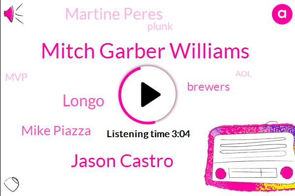 Mitch Garber Williams,Jason Castro,Baseball,Longo,Mike Piazza,Brewers,Martine Peres,Plunk,MVP,AOL