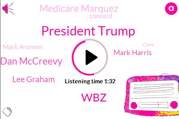 President Trump,WBZ,Dan Mccreevy,Lee Graham,Mark Harris,Medicare Marquez,Concord,Mark Aronson,CNN,Mark Garrison,North Carolina,Alexy,Congress,Secretary,Sixty Minutes