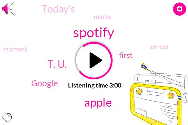 Scorpio,Spotify,Apple,T. U.,Google