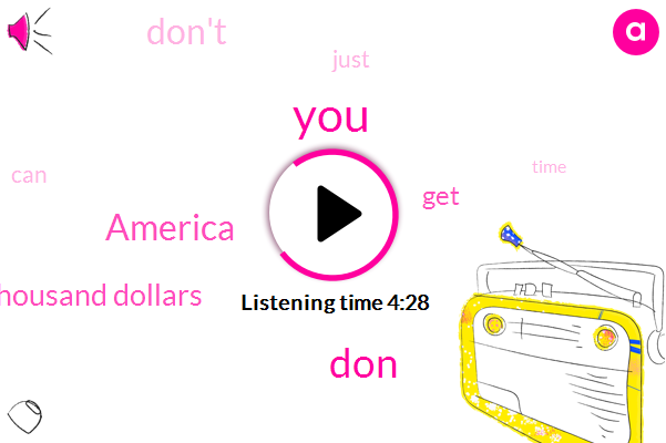 America,DON,Eighty Thousand Dollars
