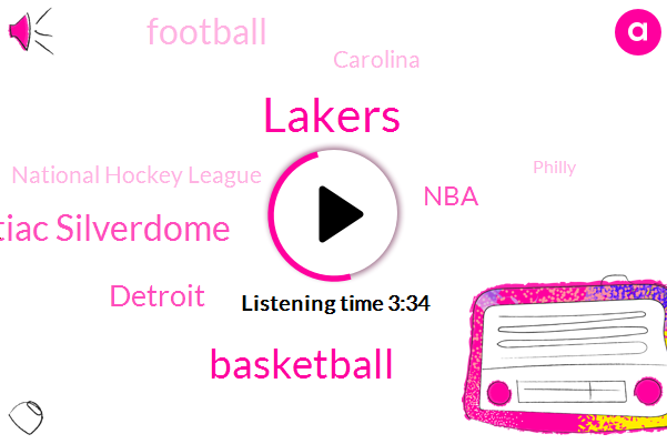 Lakers,Basketball,Pontiac Silverdome,Detroit,NBA,Football,Carolina,National Hockey League,Philly,Yarrow,Missouri,Kurt,DAN,Pete,Pistons