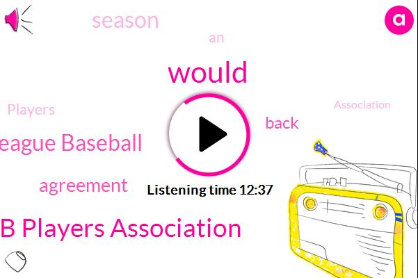 Mlb Players Association,Major League Baseball