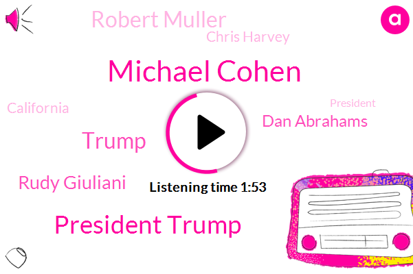 Michael Cohen,President Trump,Donald Trump,Rudy Giuliani,Dan Abrahams,Robert Muller,Chris Harvey,California,Colorado,North Europe,Officer,ABC,New York,CBS,Analyst,Parkinson,Caroline,Neil