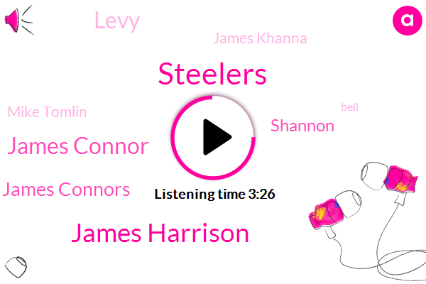 James Harrison,Steelers,James Connor,James Connors,Shannon,Levy,James Khanna,Mike Tomlin,Bell,VAL,Scott,NFL,Jenny,Russia,Blake,Lamma,Football,Belle,Conner,Moore
