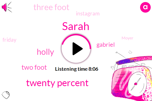 Sarah,Twenty Percent,Holly,Two Foot,Gabriel,Three Foot,Instagram,Friday,Moyer,Next Morning,Caviar,First Order,First Reaction,Three,Next Day,Dalhousie,Matt,North Ridge Road,Five Dollar Bill