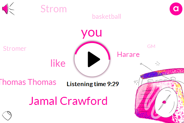 Jamal Crawford,Thomas Thomas,Harare,Strom,Basketball,Stromer,GM,Dunks,Brad Sellers,Quentin Richardson,Sean Stevens San Joel Priscilla Joe,Daddy House,Yeah Strauss,Celtics,Knicks,Portland,New York,Clippers,Tyrus Thomas,Billy Knight
