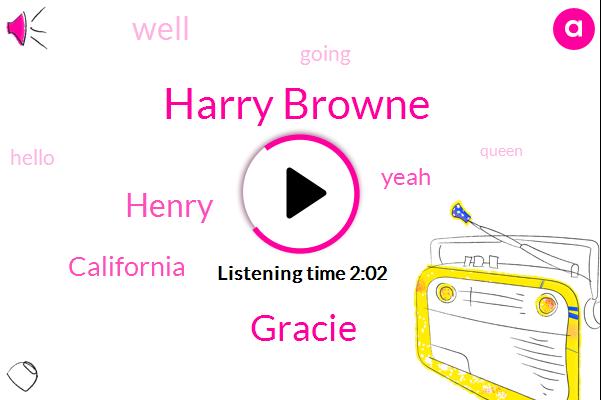 Harry Browne,Gracie,Henry,California