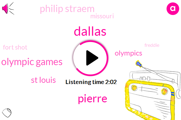 Dallas,Pierre,Olympic Games,St Louis,Olympics,Philip Straem,Missouri,Fort Shot,Freddie,Basketball,Forza,Fort Shaw