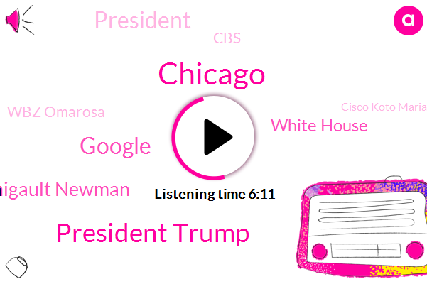 Chicago,President Trump,Google,Manigault Newman,White House,CBS,Wbz Omarosa,Cisco Koto Mariam,Christopher Cherry,Shannon Doa Valley,Detroit,Hewlett Packard,United States,Cubs,George,Federal Trade Commission