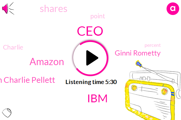 CEO,IBM,Amazon,John Charlie Pellett,Ginni Rometty