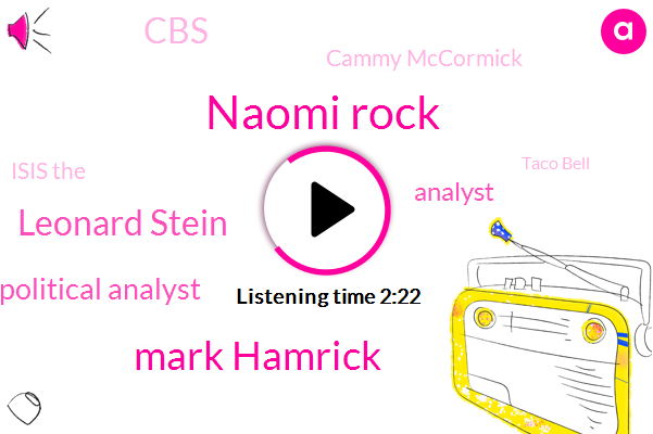 Naomi Rock,Mark Hamrick,Leonard Stein,Political Analyst,Analyst,CBS,Cammy Mccormick,Isis The,Taco Bell,Kenny Mccormick,Mitch Mcconnell,Senate,Nancy Pelosi,Stephen Manujan