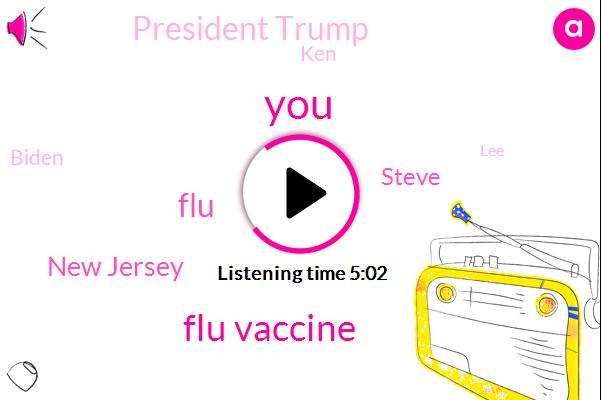Flu Vaccine,FLU,New Jersey,Steve,President Trump,KEN,Biden,LEE,Paul,Robert Kennedy Jr,Colin Ah,New Jersey.,United States,Eatontown,Youtube,Covitz,Theft,ABC