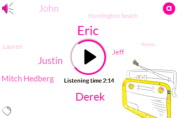 Eric,Derek,Justin,Mitch Hedberg,Jeff,John,Huntington Beach,Lauren,Recker,Chris Rock,LBO,Ten Years