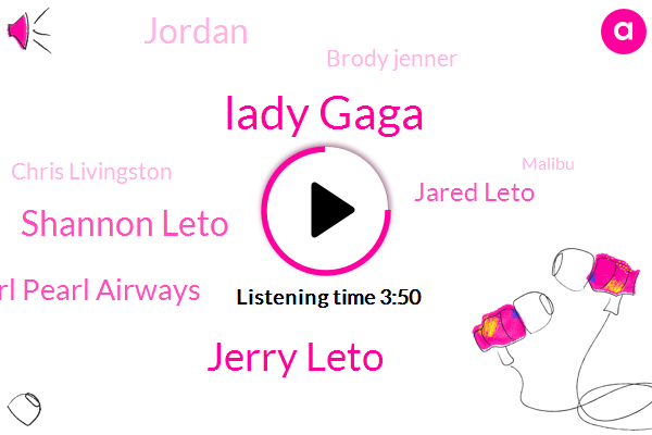Lady Gaga,Jerry Leto,Shannon Leto,Pearl Pearl Airways,Jared Leto,Brody Jenner,Chris Livingston,Jordan,Malibu,Khloe Courtney,Berlin,Roger,Adrina,FOX,Bobby,Kylie,Co-Director,Joan