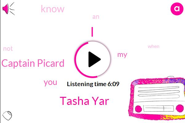 Tasha Yar,Captain Picard