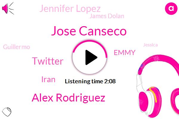 Jose Canseco,Alex Rodriguez,Twitter,Iran,Emmy,Jennifer Lopez,James Dolan,Guillermo,Jessica,STU,Espn,Billy,Conceico