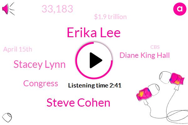 Erika Lee,Steve Cohen,Stacey Lynn,Congress,Diane King Hall,33,183,$1.9 Trillion,April 15Th,CBS,Last Week,Today,Capitol Hill,IRS,Cbs News,770,000,Nasdaq,Ronald Mariano,A Year Ago,Senate