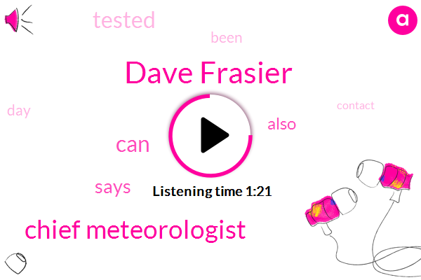 Dave Frasier,Chief Meteorologist
