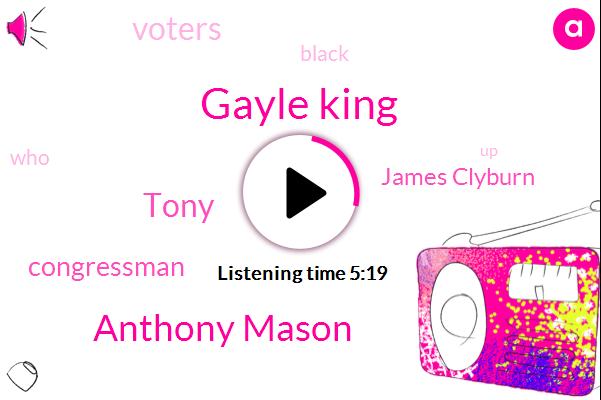 Gayle King,Anthony Mason,Tony,Congressman,James Clyburn