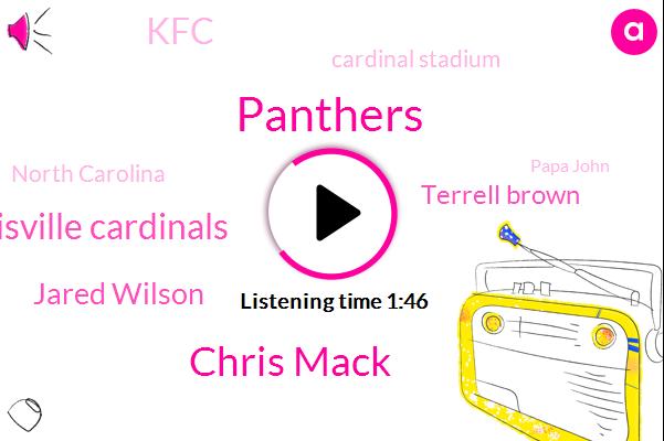 Panthers,Chris Mack,Louisville Cardinals,Jared Wilson,Terrell Brown,KFC,Cardinal Stadium,North Carolina,Papa John,Learfield,Brad,BOB,One Million Dollars