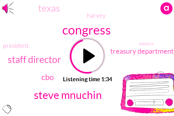 Steve Mnuchin,Congress,Staff Director,CBO,Treasury Department,Texas,Harvey,President Trump,Mexico,United States,Treasury Secretary,Senate,Washington,Bloomberg,24 Hours