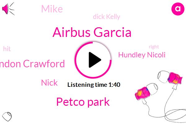 Airbus Garcia,Petco Park,Brandon Crawford,Nick,Hundley Nicoli,Mike,Dick Kelly