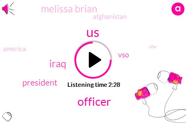United States,Officer,Iraq,President Trump,VSO,Melissa Brian,Afghanistan,America,VFW