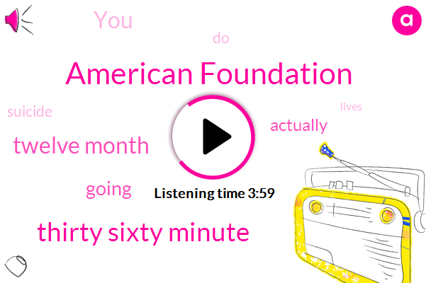 American Foundation,Thirty Sixty Minute,Twelve Month