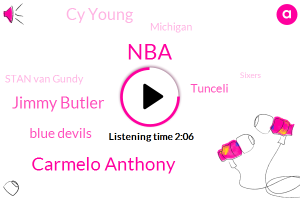 Carmelo Anthony,NBA,Jimmy Butler,Espn,Blue Devils,Tunceli,Cy Young,Michigan,Stan Van Gundy,Sixers,Joel Embiid,Ryder,Lakers,Alex Cora,Boston,Red Sox,Mets,Nick Redel,NFL
