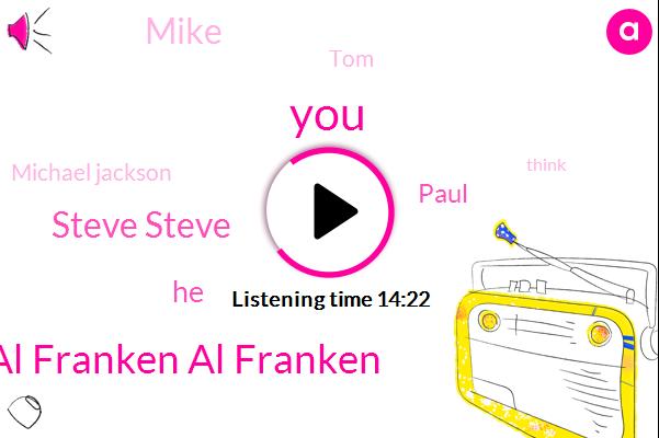 Al Franken Al Franken,Steve Steve,Paul,Mike,TOM,Michael Jackson,Senator,JAY,Mary,Virginia,Hurricane Katrina,Newstalk,CEO,Cavanaugh,K K K,Florida,United States,George,Senate,Congress