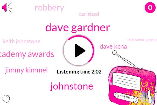 Kevin,Dave Gardner,Johnstone,Academy Awards,Jimmy Kimmel,Dave Kcna,Robbery,Carlsbad,Keith Johnstone,Sixty Seven Percent