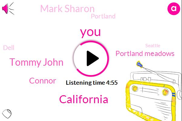 California,Tommy John,Connor,Portland Meadows,Mark Sharon,Portland,Dell,Seattle,Rice,Suffolk,Golden Gate,Pleasanton,Washington,Vallejo