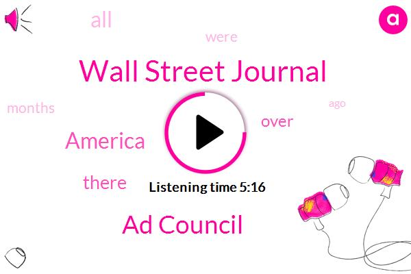 Wall Street Journal,Ad Council,Potomac,America