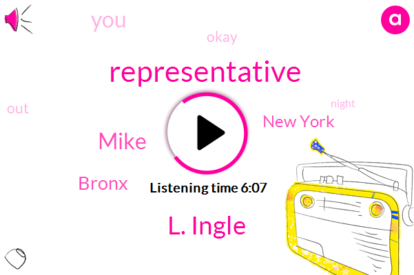 Representative,L. Ingle,Mike,Bronx,New York