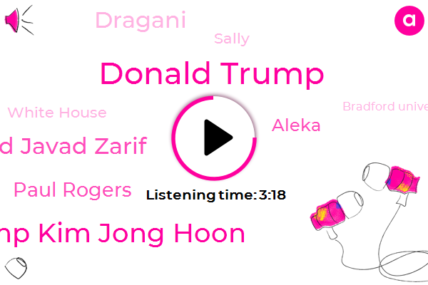 Iran,Donald Trump,Trump Kim Jong Hoon,President Trump,Iraq,United States,Mohammad Javad Zarif,Paul Rogers,White House,Bradford University,Iraqi Government,Twitter,Aleka,North Korea,Professor,Dragani,Middle East,Sally
