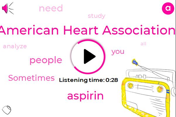Listen: Study: Low-Dose Aspirin's Risks Outweigh Benefits
